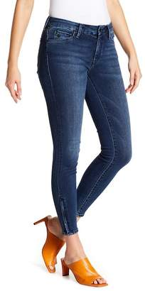 Mavi Jeans Adriana Ankle Zip Super Skinny Jeans