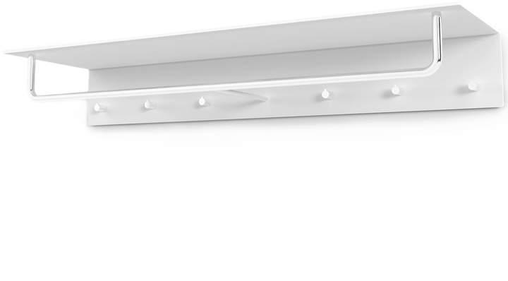 Frost - Unu Wandgarderobe mit Haken und Stange, 1000 mm