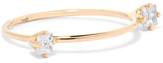 Saskia Diez Dirty Gold Diamond Ring - 52