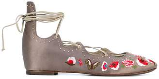 Ash 'Indra' ballerina shoes