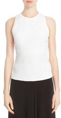Women's Cushnie Et Ochs Silk Lace-Up Back Crop Top $695 thestylecure.com