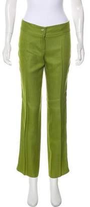 Dolce & Gabbana Woven Mid-Rise Pants