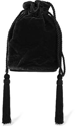 Tula Hunting Season Velvet Shoulder Bag - Black