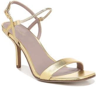 Diane von Furstenberg Frankie Metallic Slingback Sandals