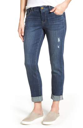 Jag Jeans Carter Cuffed Stretch Girlfriend Jeans
