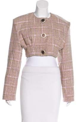 Natasha Zinko Tweed Cropped Jacket