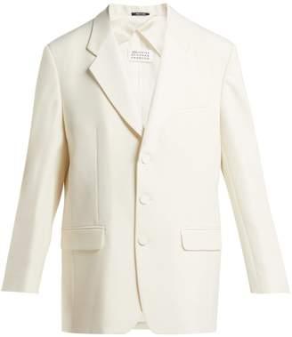 Maison Margiela Single-breasted wool-blend blazer