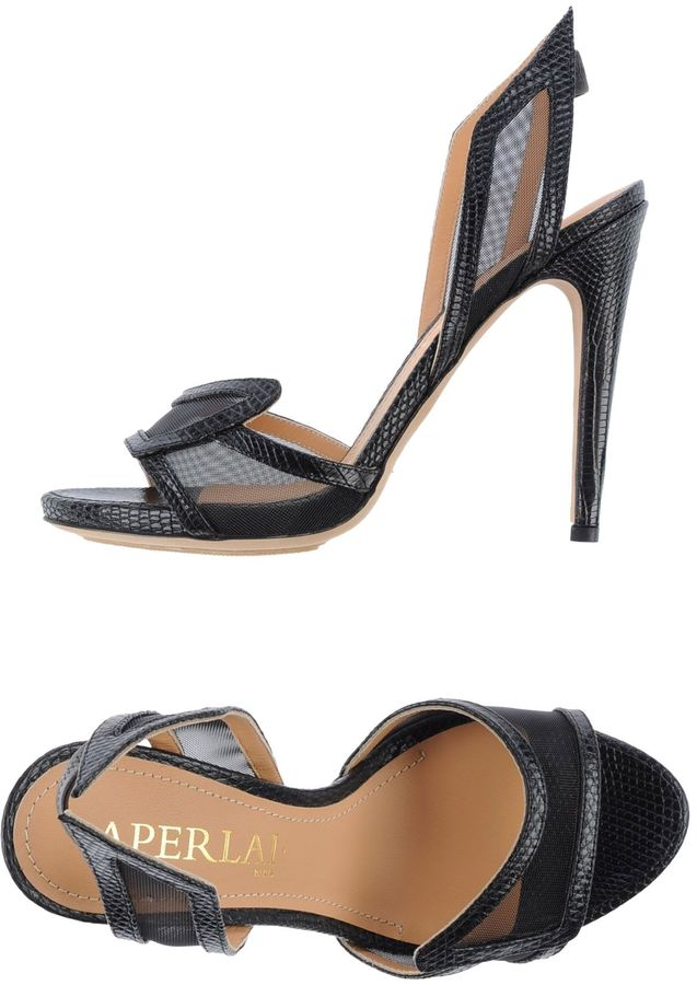 AperlaïAPERLAI Platform sandals
