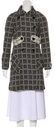 Marc by Marc Jacobs Polka-Dot Casual Coat
