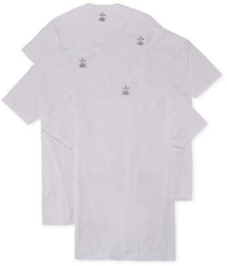 STAFFORD Stafford 4-pk. Blended Cotton Crewneck T-Shirts