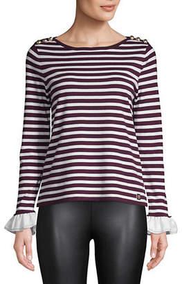 Tommy Hilfiger Stripe Long-Sleeve Sweater