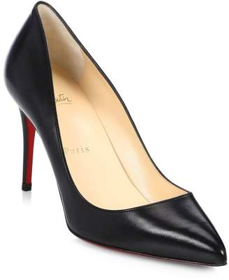 Christian Louboutin Pigalle Follies 85 Leather Pumps