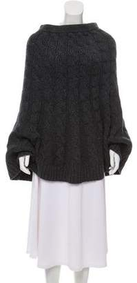 Michael Kors Wool Cable Knit Skirt