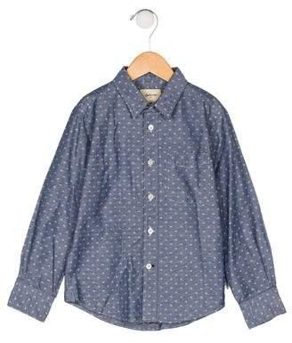 Bellerose Kids Boys' Patterned Button-Up Shirt