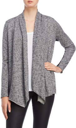 The Kooples Melange French Terry Cardigan