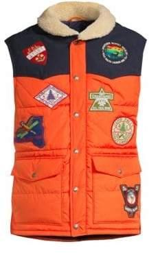 Polo Ralph Lauren Patch Detail Puffer Vest