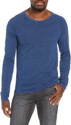 Frame Slim Fit Long Sleeve Raglan T-Shirt