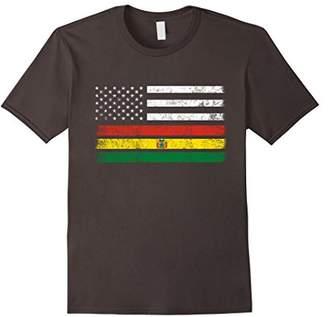 Bolivian American Flag - USA Bolivia Shirt