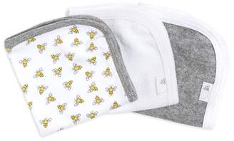 Burt's Bees Set of 3 Honey Bee Organic Washcloths