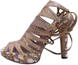 Christian Dior Leather Heels