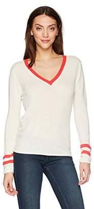 Velvet by Graham & Spencer Women's Elliana Cashmere Blend v-Neck Sweater