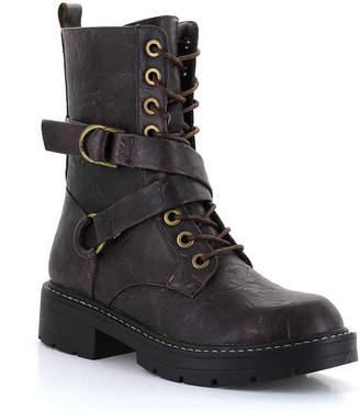 Seven7 SEVEN 7 Seven 7 Womens Cardi B Combat Zip Boots