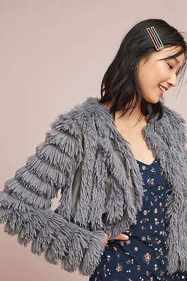Greylin Faux Fur Jacket