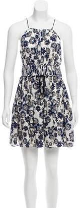 Cinq à Sept Silk Floral Print Dress