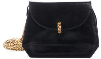 Paloma Picasso Smooth Leather Shoulder Bag