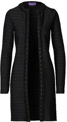 Ralph Lauren Leather-Trim Cardigan $1,490 thestylecure.com