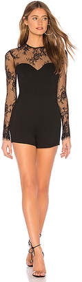 by the way. Veronica Lace Sleeve Romper