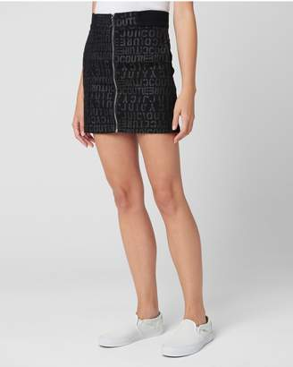 Juicy Couture HIGH RISE DENIM SKIRT