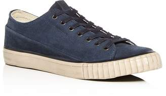 John Varvatos Bootleg Bootleg Men's Washed Suede Low-Top Sneakers
