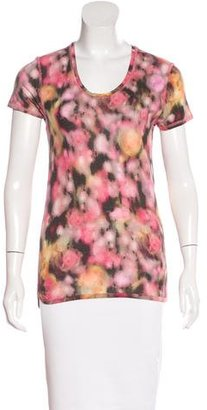 Mulberry Abstract Print T-Shirt $80 thestylecure.com