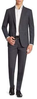 Boglioli Textured Wool-Blend Suit