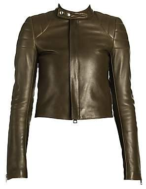 Bottega Veneta Women's Quilted Leather Biker Jacket