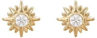 Sara Weinstock Women's Starburst Stud Earrings