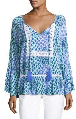 Lilly Pulitzer Amisa Flounce Top