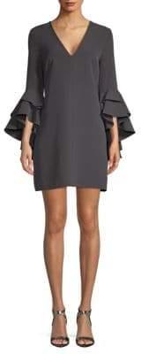 Milly Nicole Bell-Sleeve Dress