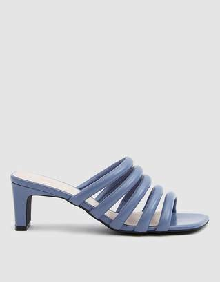 4ef4f98aead6b Intentionally Blank Willow III Leather Heel in Periwinkle
