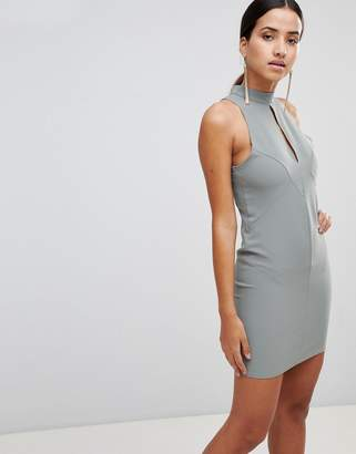 Love Key Hole Bodycon Dress