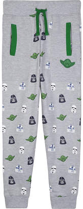 Star Wars Fabric flavours print cotton jogging bottoms 3-10 years