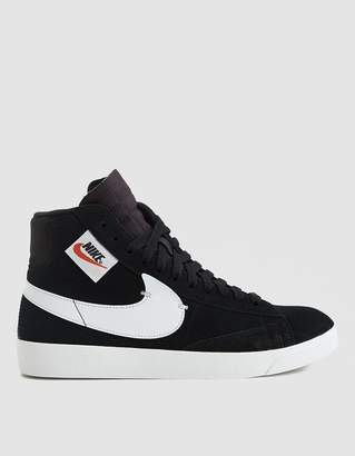 Nike W Blazer Mid Rebel Sneaker in Black