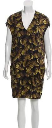 Lanvin Satin Shift Dress