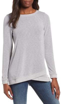 Everleigh Crossover Hem Sweatshirt