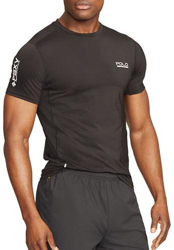Polo Sport Mesh-Panel Compression T-Shirt