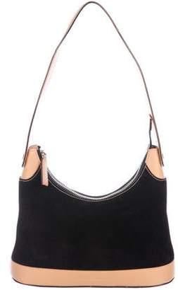 Salvatore Ferragamo Leather & Suede Shoulder Bag