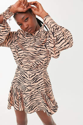 Finders Keepers Romy Long Sleeve Mini Dress