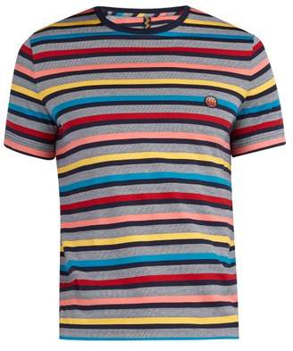 Missoni Mare - Striped Cotton T Shirt - Mens - Multi