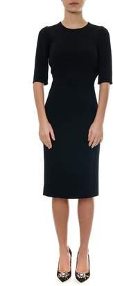 Dolce & Gabbana Black Midi Dress